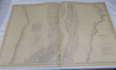$ CDN87.47 • Buy 1894 Detailed Map Of MISSISSIPPI RIVER/ In & North Of OQUAWKA, IL /24x38