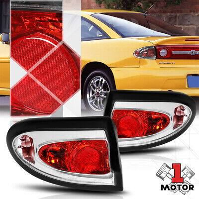$68.85 • Buy Red/Clear *EURO ALTEZZA* Tail Light Reverse Brake Lamp For 03-05 Chevy Cavalier