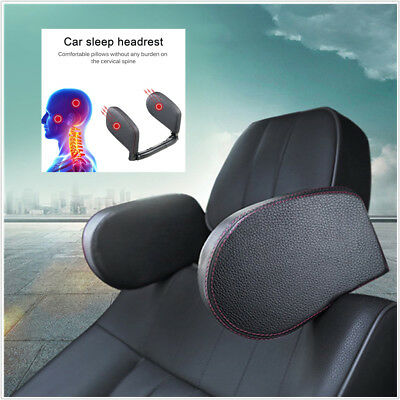 $ CDN81.42 • Buy Headrest Car Seat Head Neck Support Pillow Leather Neck Shoulder Pillow Cushion