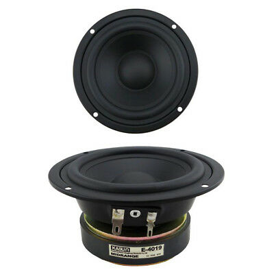 AU41.52 • Buy 1pcs 4.5  Inch 8ohm 80W HIFI Sealed Basket Midrange Audio Speaker Loudspeaker