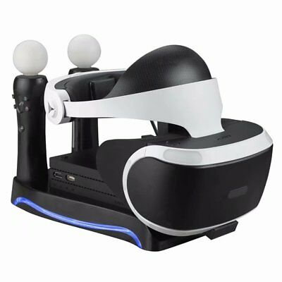 AU27.40 • Buy Charging Dock Charger Station Stand Holder For PS4 VR II PS Move Game Controller