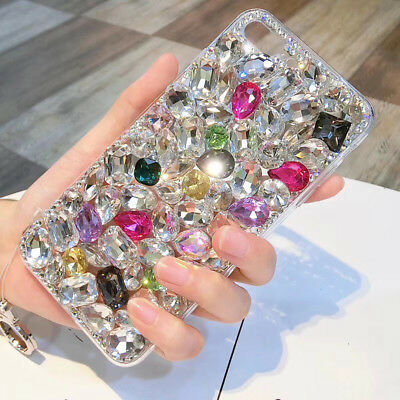 AU13.25 • Buy For Various Phone Superior Quality Luxurious Glitter Diamond Jewelry Case Cover