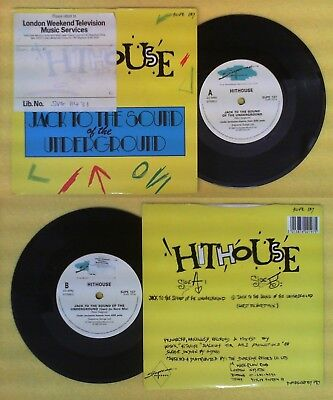LP 45 7''HITHOUSE Jack To The Sound Of The Underground 1988 SUPREME No Cd Mc Dvd • 3.45£