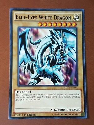 AU4.95 • Buy Yugioh! - Blue-Eyes White Dragon - LDK2-ENK01 - Common - 1st Edition - M/NM Card