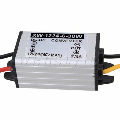 AU21.65 • Buy DC-DC 12V 24V To 6V 5A 30W Converter Step-Down Module For Car Power Supply