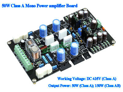 One pair Pure Class A Amp board base KRELL KSA50 50W+50W L3-58 MJ15024//15025