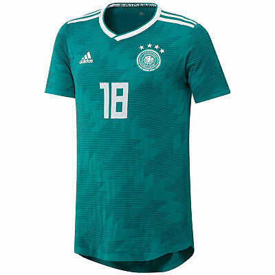 Official Germany Knitted Football Away Shirt Jersey Tee Top 2018 Mens Adidas • 138.99£