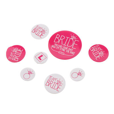 £4.75 • Buy Hen Party Badge - Team Bride Buttons - Bridesmaid Gifts, Favors & Gifts