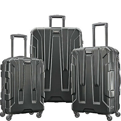 View Details Samsonite Centric 3 Piece Hardside Suitcase Spinner Luggage Set - Choose Color • 224.99$
