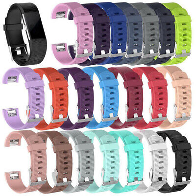 $ CDN3.20 • Buy Replacement Watch Strap For Fitbit Charge 2 Band Silicone Bracelet With Buckle