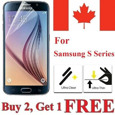 $ CDN1.95 • Buy Clear Screen Protector Cover For Samsung Galaxy S20 FE S10e S7 S6 S5 / Neo