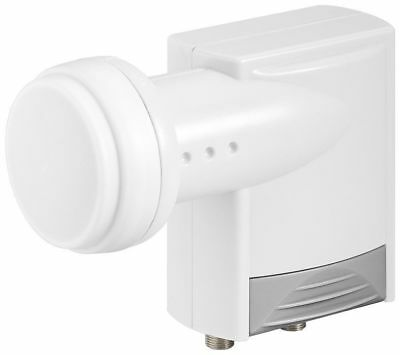 Weatherproof Twin / Dual Satellite LNB For 2x Receivers Or Sky+ HDTV & 3D Ready  • 9.99£