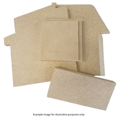 Aarrow Replacement Vermiculite Fire Bricks | All Models | Side | Back  • 14.16£
