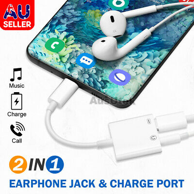 AU7.49 • Buy 2in1 USB C Type-C To 3.5mm Headphone Jack Adapter AUX & Sync Data Charge Cable