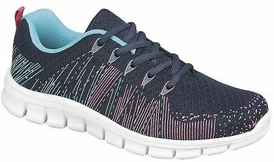 $ CDN31.07 • Buy Ladies Womens Trainers Lightweight Gym Running Memory Foam Shoes Size