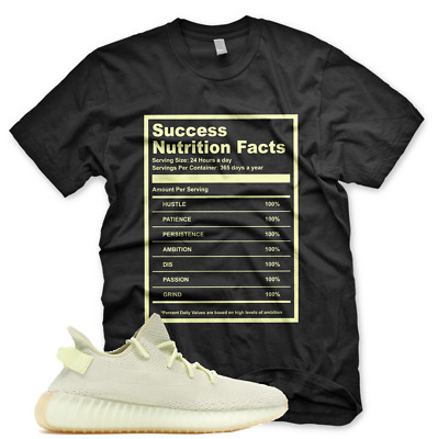 $29.99 • Buy Black  SUCCESS FACTS  T Shirt For Adidas Yeezy 350 V2 BUTTER GUM BELUGA CEO