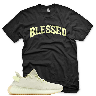 $29.99 • Buy Black BW  BLESSED  T Shirt For Adidas Yeezy 350 V2 BUTTER GUM BELUGA CEO