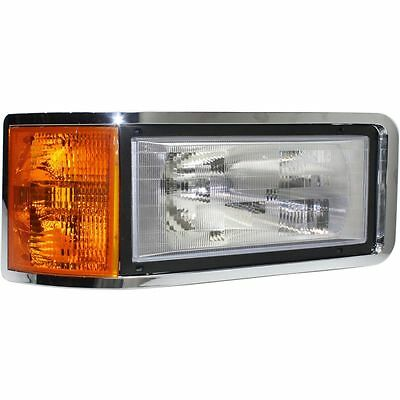 $174.98 • Buy New 1989-2007 Fits Mack Ch Cl Right Side Headlight Lamp Clear Leans 25163253