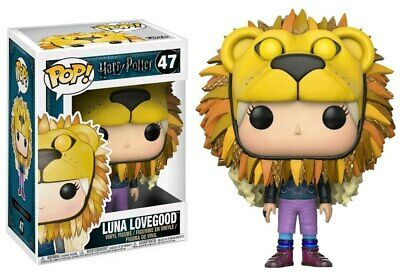 Harry Potter - Luna Lovegood With Lion Head Pop! Vinyl-FUN14944 • 11.16£