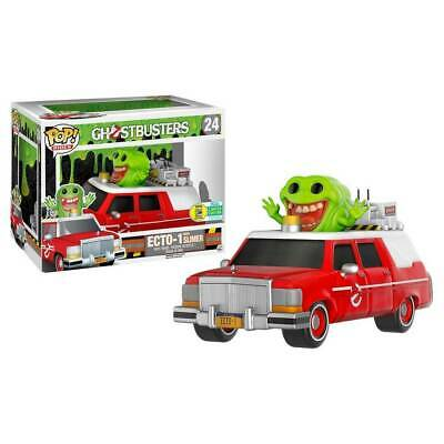 Ghostbusters (2016) - Ecto 1 Red SDCC 2016 Exclusive Pop! Ride-Brand New • 38.34£