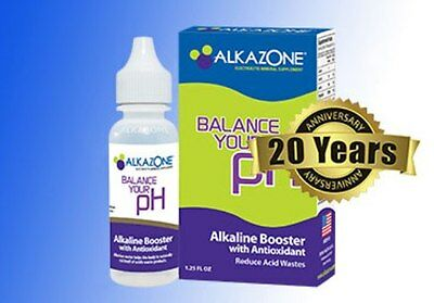 Alkazone  Alkaline PH Booster Drops For Water, 45 Day Supply 1.25oz New Package • 17.55£