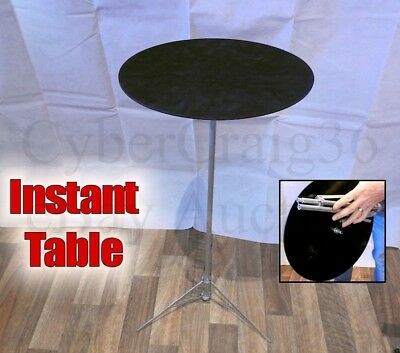 Folding Instant Appearing Table Magician Stage Prop For Magic Trick Entertainer • 69.95£