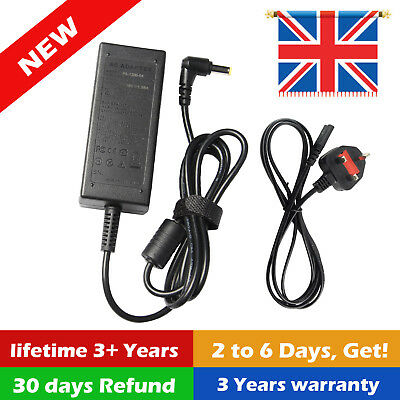 Acer Aspire 3 A315-21-44qb Replacement 19v 2.37a Laptop 45w Ac Adapter Charger • 8.99£