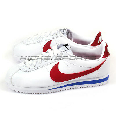 AU144.95 • Buy Nike Wmns Classic Cortez Leather Casual Lifestyle White/Varsity Red 807471-103