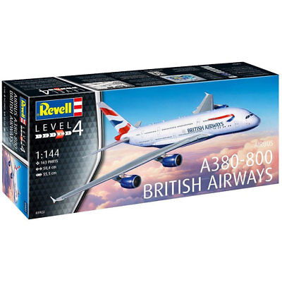 REVELL A380-800 British Airways 1:144 Scale Model Kit 03922 • 25.49£