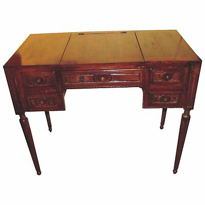 $2600 • Buy Antique French Louis XVI Fruitwood Dressing Table Circa 1790