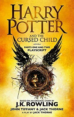 $ CDN5.86 • Buy Harry Potter And The Cursed Child - Parts One And Two: The Official Playscrip.