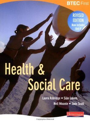 £3.56 • Buy BTEC First Health And Social Care, Revised Edition: Student Book-Ms Laura Asbri