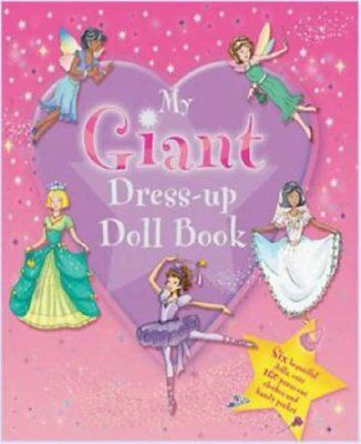 £6.22 • Buy Giant Press-Outs - Dress Up Doll Book: 6 Beautiful Dolls And 160 Press-Outs (.