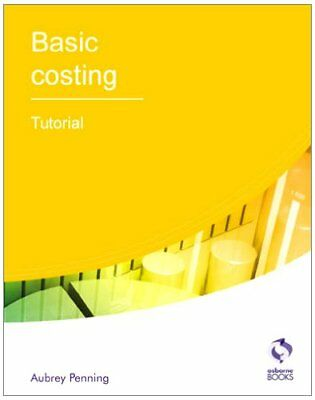 Basic Costing Tutorial (AAT Accounting - Level 2 Certificate In Accounting)-Aub • 2.15£