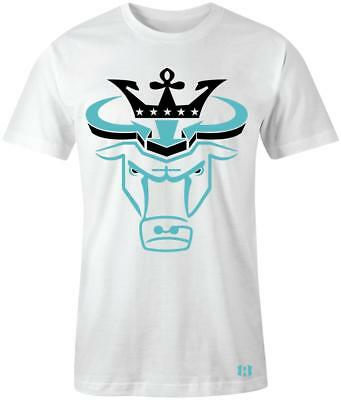 $24.99 • Buy  Crown Bull  T-shirt To Match Retro  Light Aqua  12's