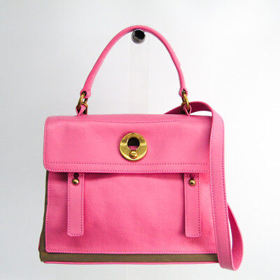 78244437e0d7 Yves Saint Laurent Muse Two Muse Two 283761 Women s Leather Handbag Pin  BF325740 • 433.00