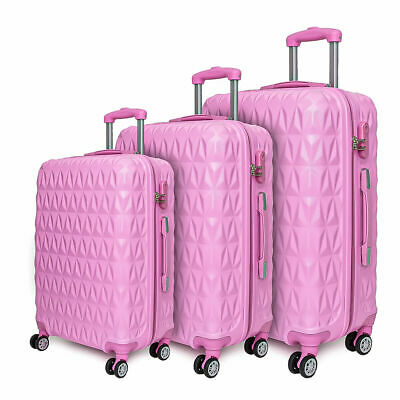 Lightweight Luggage Travel Suitcase Large Trolley Cabin Case Wheeled Hard Shell • 26.99£
