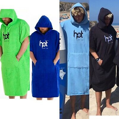 £27.99 • Buy Changing Robes Hotsurf 69 Hooded Surf Changing Robes Beach Towels - All Colours