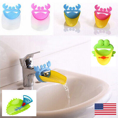 $7.99 • Buy Faucet Extender For Toddlers, Kids, Babies Great Gift Stocking Stuffer FAST SHIP