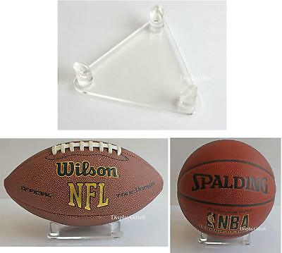 Deluxe Acrylic Basketball Soccer Football Display Stand, DS02 • 11.95$