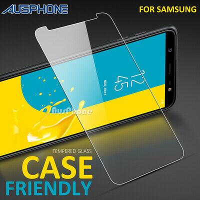 AU4.95 • Buy 2x Tempered Glass Screen Protector For Samsung Galaxy J2 Pro A8 J8 2018 A5 J7 J5