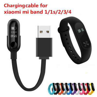 USB Charging Cable Dock Charger For Xiaomi Mi Band 1/2/3/4 Fitness Tracker • 1.11$