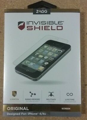 £5.06 • Buy Zagg Apple IPhone 4G InvisibleShield (Screen)