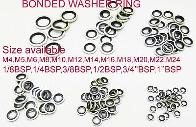 £17.99 • Buy Bonded Seal Washers - Dowty Sealing Washer Hydraulic Oil Petrol Sealing Washers