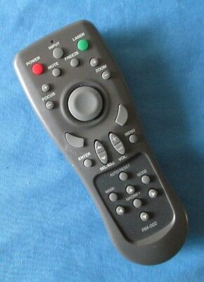 Genuine Original RM-002 PROJECTOR Remote Control Tested And Cleaned • 17.99£