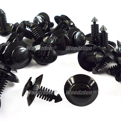 $9.70 • Buy 100 Pc Door Trim Panel Clip Plastic Retainer Fastener For Ford Mustang N801925-S