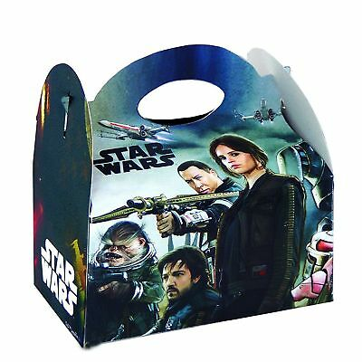 £3.99 • Buy Star Wars Rogue One Party Box Kids Food Loot Lunch Gift Birthday Box Bags