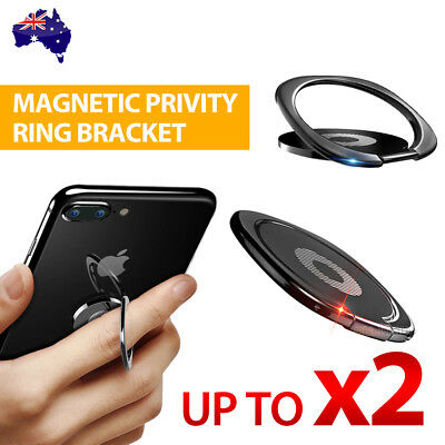 AU4.45 • Buy Phone Holder Mount Finger Ring Stand For Cell Phone Tablet Ultra Thin Magnetic