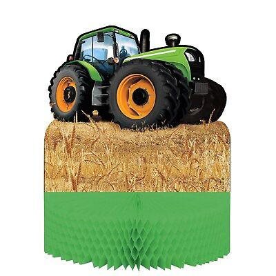 AU12.99 • Buy Tractor Farm Country Birthday Party Table Centre Decoration Centrepiece