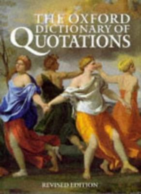 The Oxford Dictionary Of Quotations-Angela Partington • 2.96£